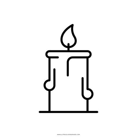 candele da colorare candela disegni da colorare ultra coloring pages