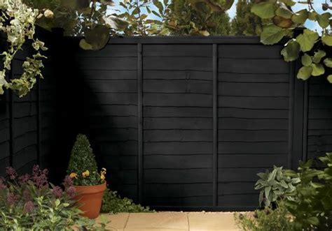cuprinol gartenmöbel die besten 25 black fence paint ideen auf