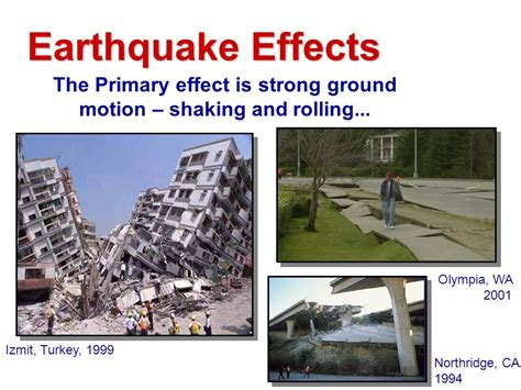 earthquake effects earthquake hazard and preparedness in british columbia