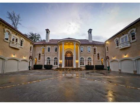 One Story House Plans by 6 9 Million Traditional Mediterranean Mansion In Atlanta