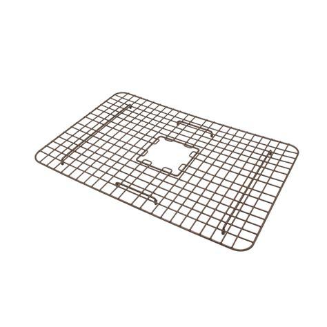 copper farmhouse sink grid foster copper kitchen sink bottom grid sinkology