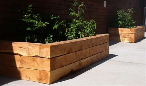 Using Landscape Timbers For Raised Beds Top 9 Yard Design Ideas Using Landscape Timbers