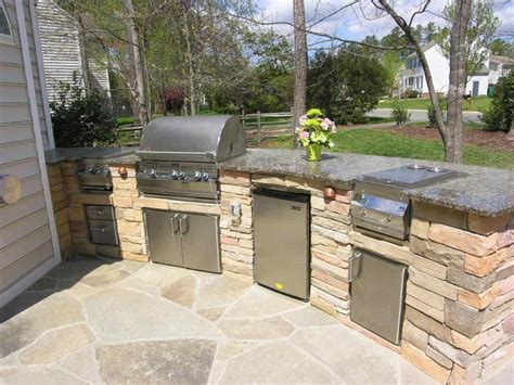 Patio Kitchen Designs by Outdoor Kitchens Greenscapes