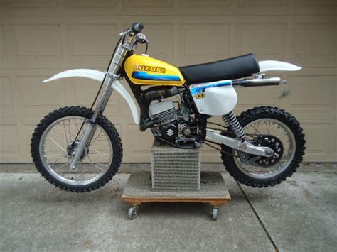 Vintage Suzuki Rm Parts Vintage Suzuki 1977 Rm100 Rm 100 Race Ready Bike Ahrma Fox
