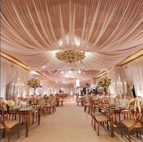 wedding ceiling draping best 25 indoor wedding receptions ideas on pinterest