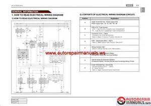 ssangyong kyron d130 2007 04 service manuals and electric wiring diagrams auto repair manual