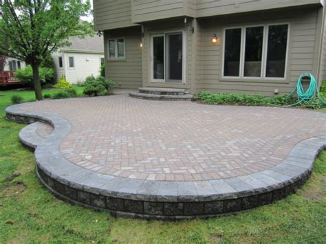 Brick Paver Patio Brick Pavers Canton Plymouth Northville Arbor Patio Patios Repair Sealing
