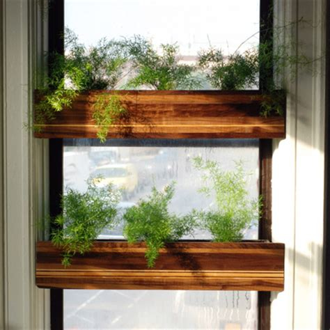 window planters indoor charitybuzz 2 custom quot treehouse quot indoor window planters from gowanus lot 550424
