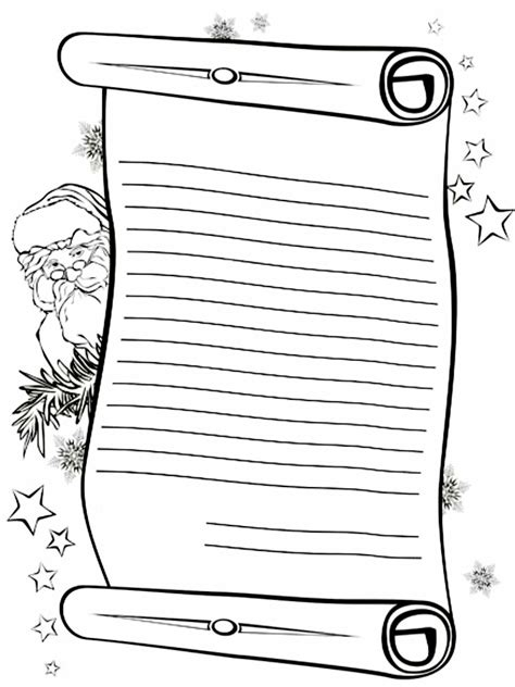 free coloring pages of letters to santa letter to santa claus color search results calendar 2015