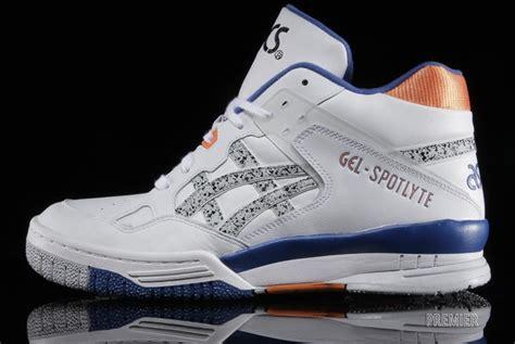 asics basketball shoe asics introduces their classic gel spotlyte basketball