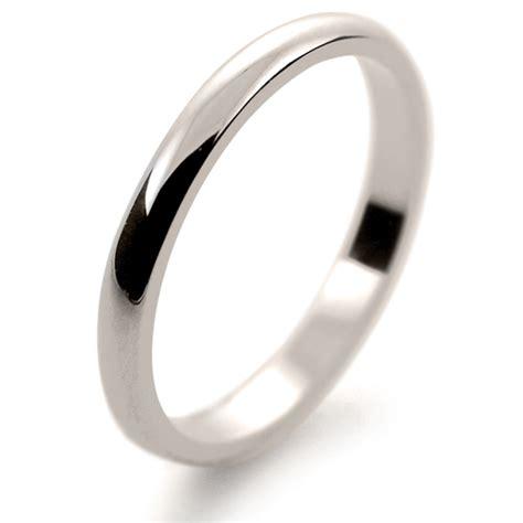 d shape light 2mm ld2 w white gold wedding ring ld2 w