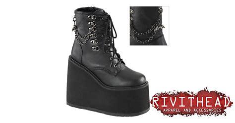 demonia swing 101 swing 101 black platform boots