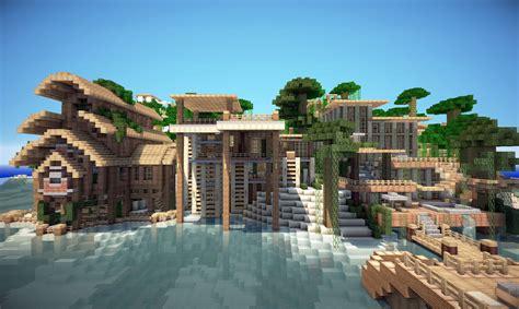 modern house inspiration minecraft project jungle house on world of keralis minecraft project