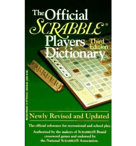 scrabble webster the official scrabble players dictionary merriam webster