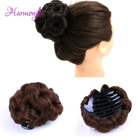 updo with elastic combs curly hair updos reviews online shopping curly hair