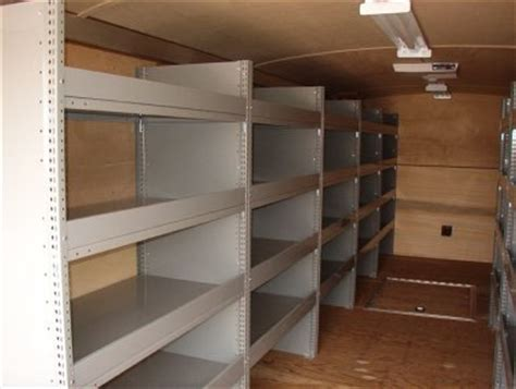 cargo shelves cargo trailer shelving