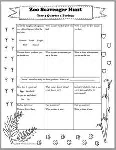 template for scavenger hunt zoo scavenger hunt printable for an ecology field trip