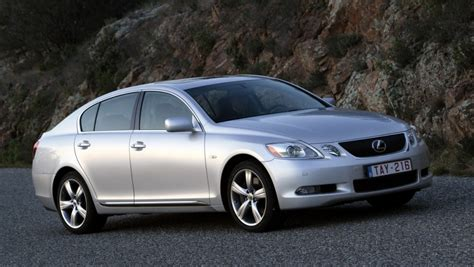 lexus sedans 2005 lexus gs sedan 2005 2007 reviews technical data prices