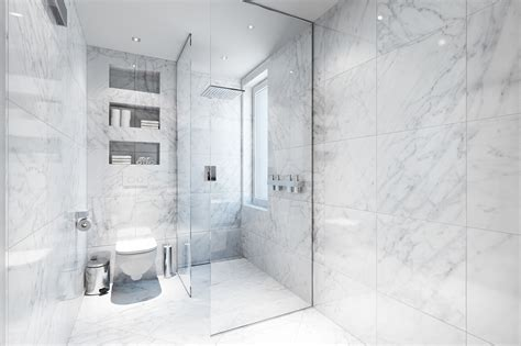 White Marble Bathroom Ideas | white marble bathroom interior design ideas