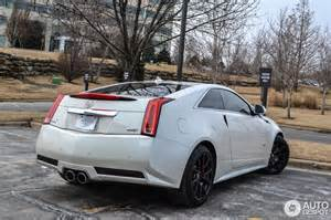Cadillac Cts V 2014 Coupe Cadillac Cts V Coup 233 13 March 2014 Autogespot
