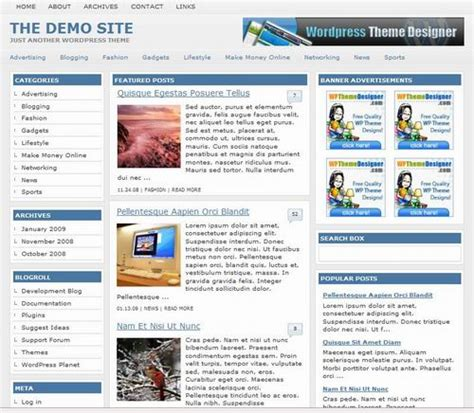 wordpress templates for articles 10 best free wordpress magazine style themes templates
