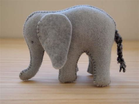 pattern for felt elephant free felt animal patterns donated to crafters 4