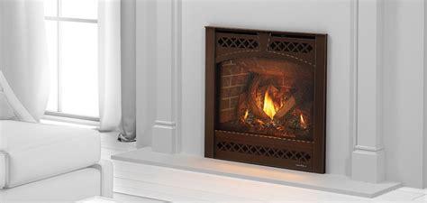 heat and glo gas fireplace heat glo slimline series gas fireplace