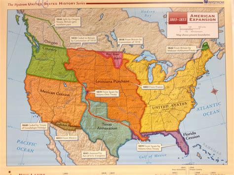 manifest destiny map manifest destiny westward expansion map quotes