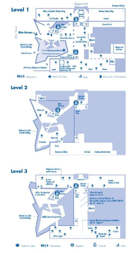 Royal Ontario Museum Floor Plan | floor plans of the royal ontario museum cool museums