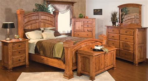 wood furniture bedroom design picture1 craftsman
