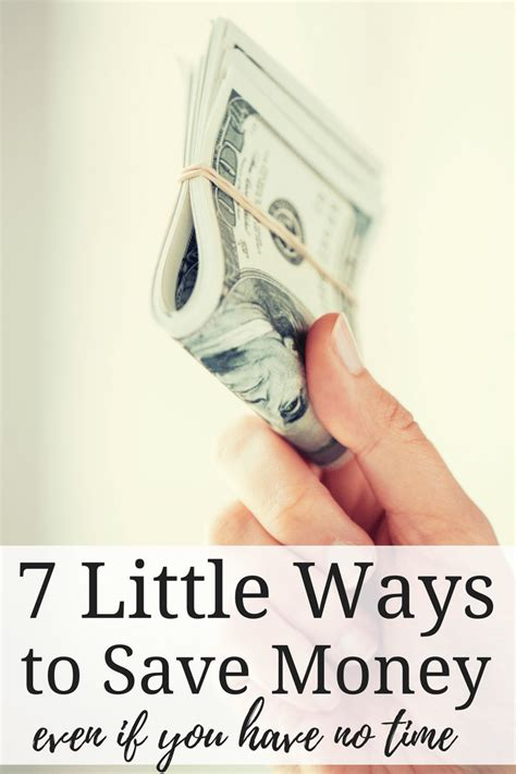 7 Ways To Save Money Out by 7 Ways To Save Money Even If You No Time