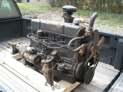1954 Chevy 235 Cid Straight 6 Cylinder And 3 Speed