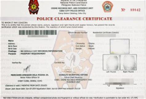 Sample Examination Form Examination how to apply for a police clearance in the philippines