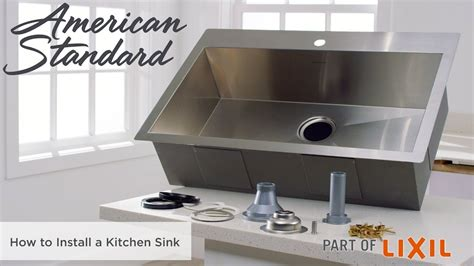 how to install a kitchen sink how to install a kitchen sink