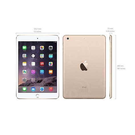 Mini 16gb apple mini 3 a1599 16gb wifi white gold cheap refurbished at ac computer warehouse