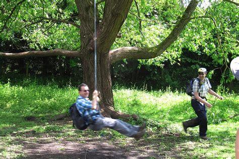 large tree swing scrap book berkshire weekend walkers