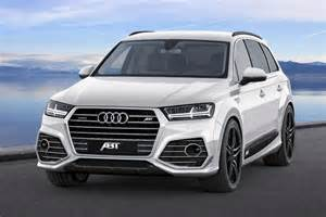 2015 audi q7 receives styling kit from abt