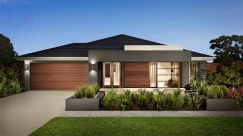 pin one story home design pictures kamistad celebrity contemporary single story house facades australia google