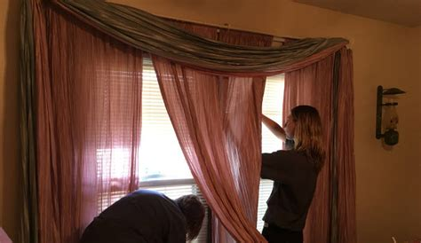 power drapes upholstery curtains blind cleaning project in