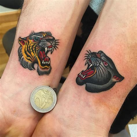 tattoo old school cat old school big cats tattoo tattoo interests pinterest