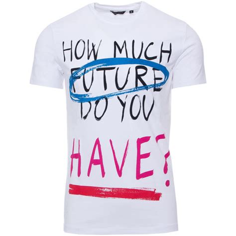 Colored Fit T Shirt antony morato slim fit t shirt met multi colored text