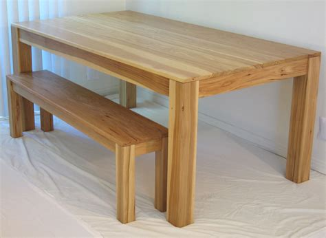 bench with dining table dining table wood dining table plans
