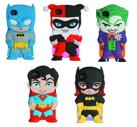 Marvel Dc Comics Iphone 5 5s Se Casing Custom Hardcase previewsworld dc chara covers iphone 4 4s 12pc asst