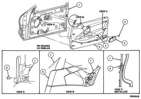 service manual diagrams to remove 1993 lincoln mark viii driver door panel 1993 lincoln mark service manual remove rear door panel 1993 lincoln mark viii remove rear door panel 1993