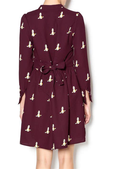 Satrun Dress 2 pinkyotto penguin on saturn dress from nolita shoptiques