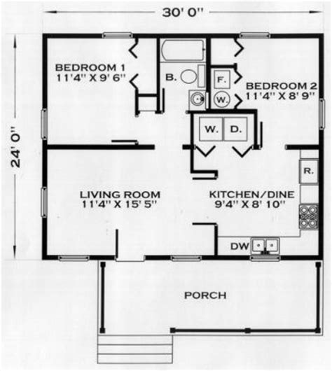 192 square foot home for two small house living tour in peniac cabin plan