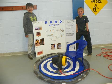 diy hovercraft science fair project abington journal science takes center stage at newton