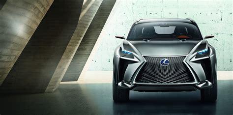 lexus lf nx debut for lexus lf nx turbo suv concept at tokyo motor show