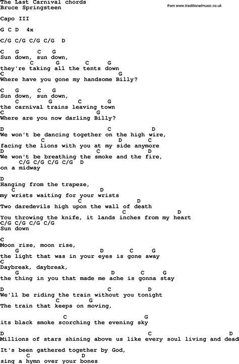 springsteen lyrics springsteen lyrics 28 images springsteen river lyrics