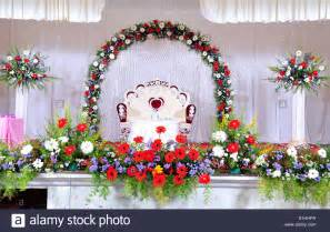 flower decoration images wedding stage decoration with flowers in hindu christian